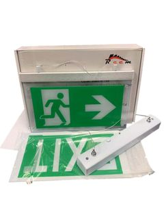 EXIT 3W LED EMERGENCY LIGHT 3 HOURS AS/NZS & AS2293 HANGING