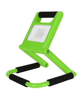 PORTABLE GREEN FLOODLIGHT LED 10W 6500K 2 years wrty