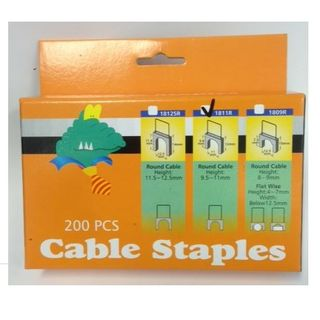 SUITS CABLE STAPLE ROUND 9.5MM-11MM