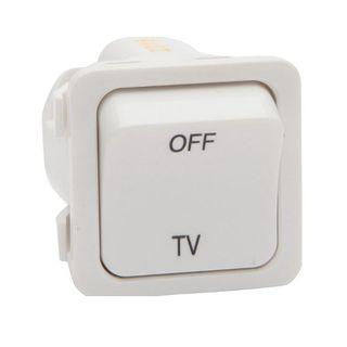 PDL TV Socket Outlet White