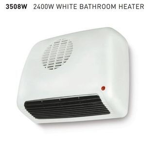 GOLDAIR Bathroom Heater White 2400W