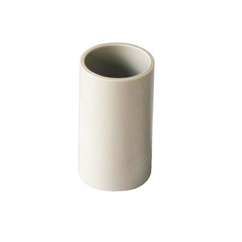 25MM COUPLING FOR CONDUIT GREY