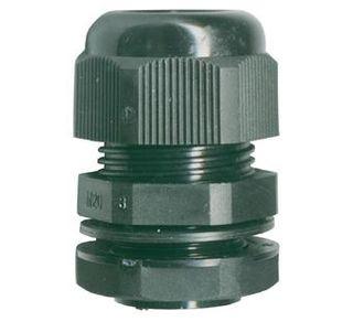 16mm Nylon Gland-Black