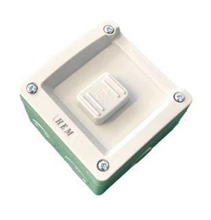 HEM Single Switch IP56 Weatherproof - 16A