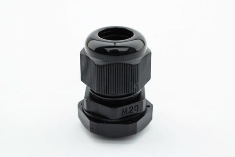 Cable Gland 20mm Black