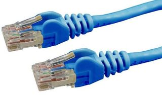 Cat6  UTP Blue Patch Lead