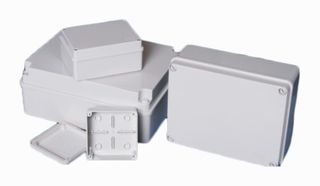 Weatherproof  Junction Box 125x125x100mm0