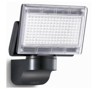 XLED home 1 SL LED floodlight in Black.IP 44 12w