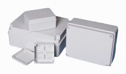 Weatherproof  Junction Box 125x175x75mm0
