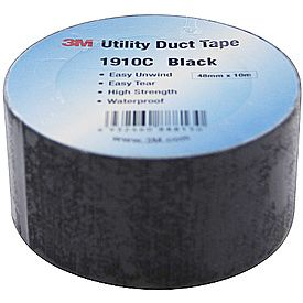 Duct Tape 1910C Black 10M
