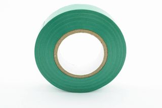 Tanzini 20M Electrical Tape Green