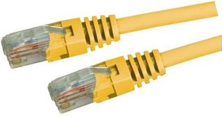 CAT5E UTP Yellow PATCH LEAD