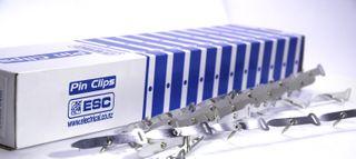 Aluminium Pin Clips 57mm size 4 - 200pcs