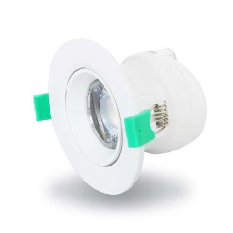 K-series 7W 70CUT LED WHITE 3000K TILT REEM