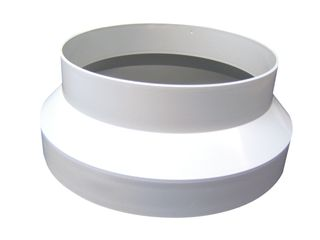 125mm-100mm Plastic Reducer