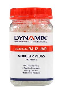 Dynamics RJ-12 Plug 200pc Jar