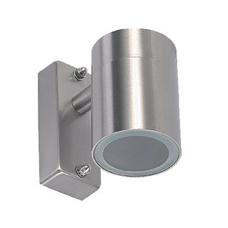 UP OR DOWN LIGHT STAINLESS STEEL IP54 -Silver