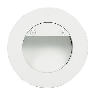 Recessed Round LED Deflector Step Light
