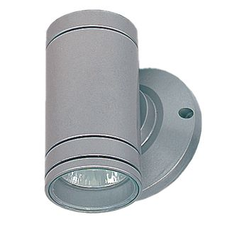 Tube Wall Up or Down Light - Silver