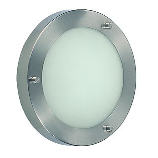 Small Round Halogen Stainless Bulkhead