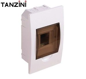 TANZINI Flush Mount 4 Way Distribution Board