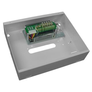 13.8V 4.75A Boxed Power Supply  With Battery Charging And 5 X Fused Outlets