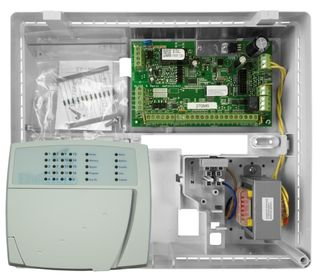 16 Zone ESL Control Board in Plastic Cabinet with E16LED KP Keypad