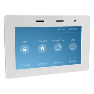 5IN Touch Keypad in White