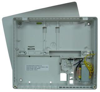 Pre-Assembled PW 4/8 Plastic Box (With Trans T/Blk)