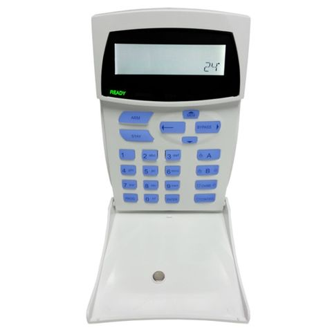 Icon LCD keypad with time and temp display OEM Style.
