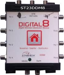Digital TV Distributor - 8way