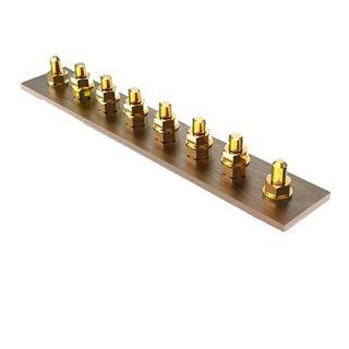 6 Way Copper Stud Bar - 180A