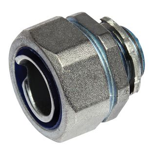 25mm Straight Connectors IP65 Nickel Coated Brass