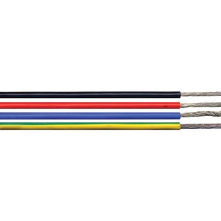 1 X 1.5mm High Performance Flexible Appliance / Marine Wire - Green/Yellow