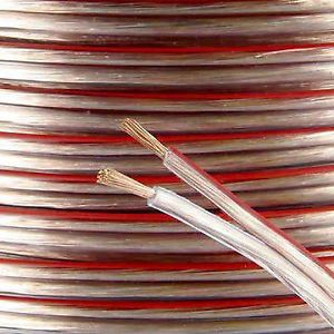 1.5MM TWIN SPEAKER  CABLE - 100M/DRUM