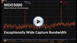 MDP3000 App Demo - Exceptionally Wide Capture Bandwidth