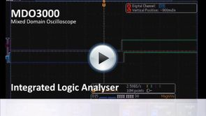 MDO3000 App Demo - Integrated Logic Analyser