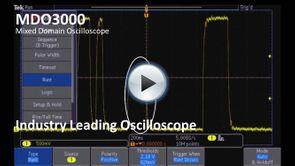 MDO3000 - Industry Leading Oscilloscope