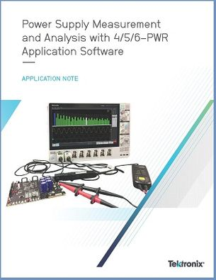 Tektronix App Note Power Supply Measurements 4-5-6-PWR App Note