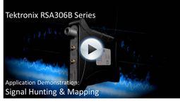 RSA306B App Demo - Signal Hunting & Mapping