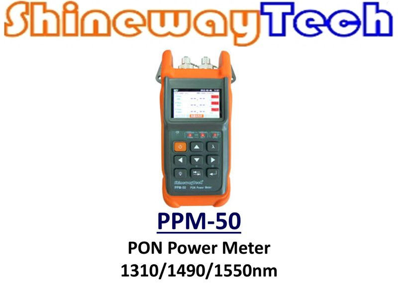 PPM-50 PON Power Meter, SCA connector