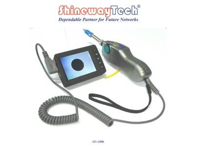 Intelligent Watch-style Optical Connector Inspection Probe