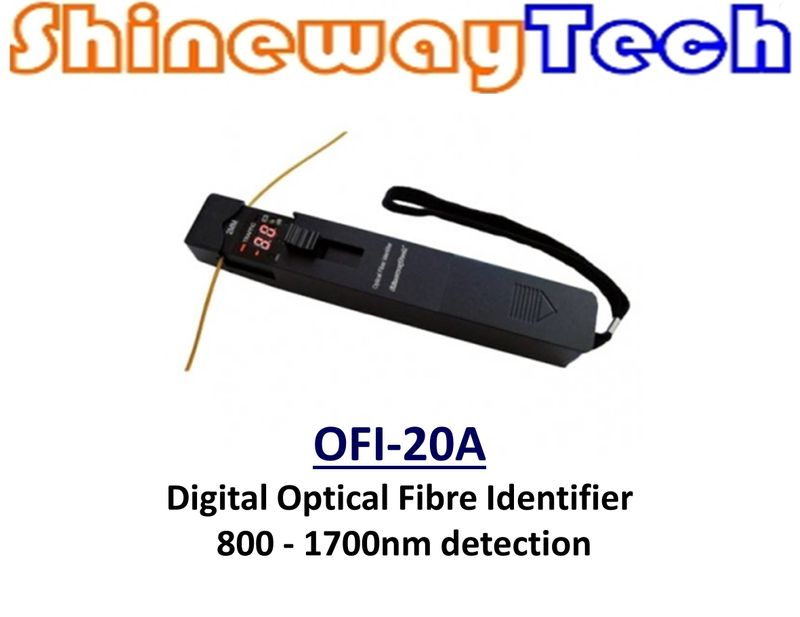 OFI-20A Digital Optical Fibre Identifier, 800-1700nm, -55dBm