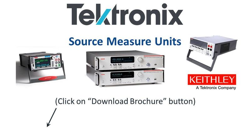 Learn more about the Keithley Sourcemeter SMU