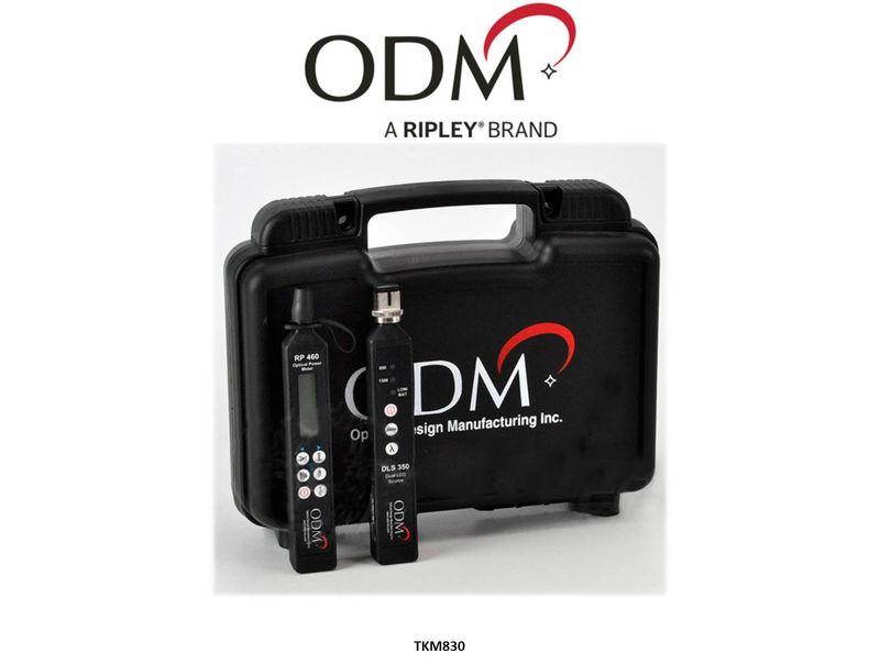Dual 850-1300nm Multimode Fibre Test Kit