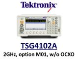 Tektronix TSG4102A RF Vector Sig Gen (basic analog-only config) without OCXO timebase, DC - 2GHz