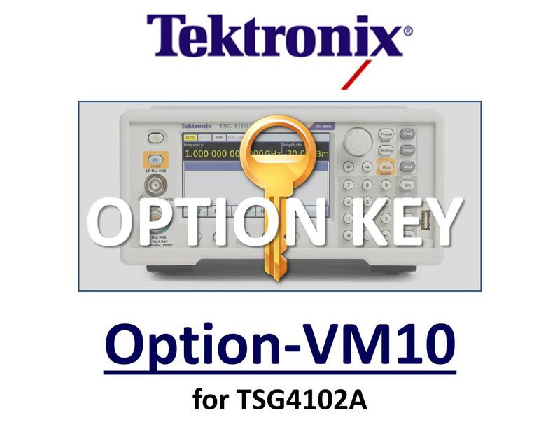 Audio Clip (analog AM and FM) , requires option VM00