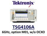 Tektronix TSG4106A RF Vector Sig Gen (basic analog-only config) without OCXO timebase, DC - 6GHz