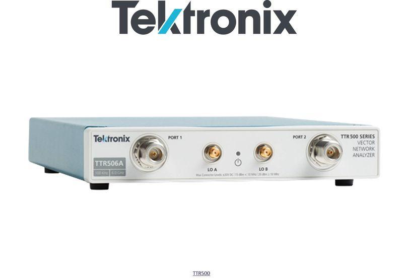 Tektronix TTR506A USB Vector Network Analyser, 100 kHz to 6 GHz