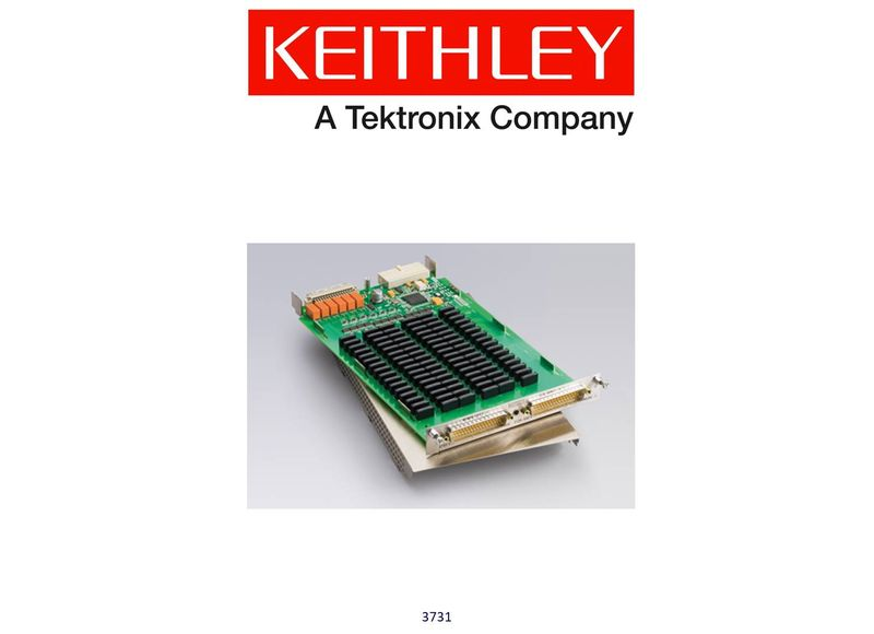 Keithley model 3731 6x16 High Speed, Reed Relay, Matrix Card